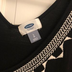 Old Navy Tops - Old Navy Subtle Tribal Print T-Shirt